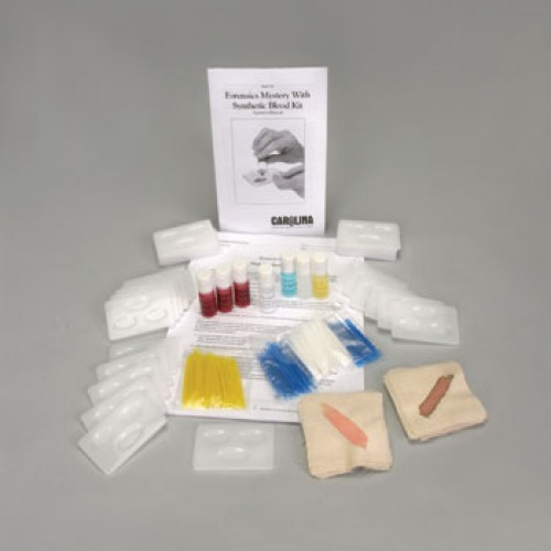 Carolina Forensics Mystery With Synthetic Blood Kit